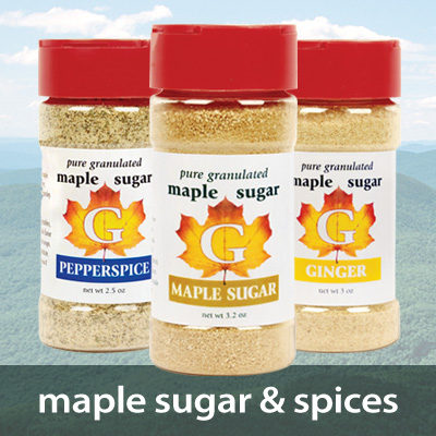 Maple Sugar and Spices